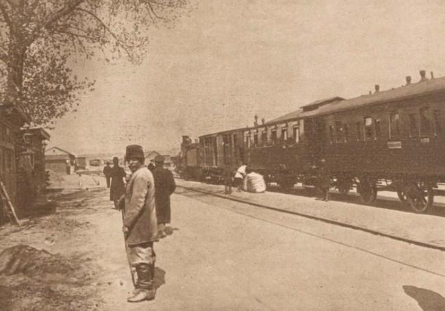 Le Miroir, 10 septembrie 1916: Gara Reni