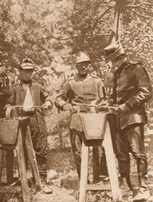 Le Miroir, 10 septembrie 1916: Infanterişti români