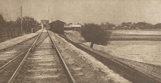Le Miroir, 10 septembrie 1916: Podul de peste Prut