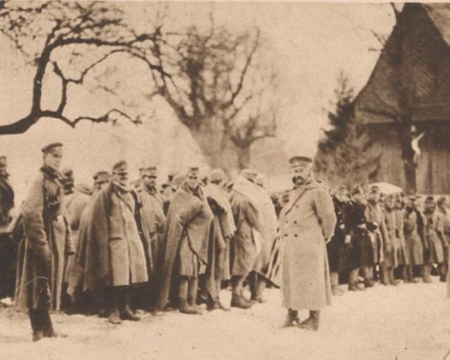 Le Miroir 12 martie 1916 Prizonieri austrieci 1