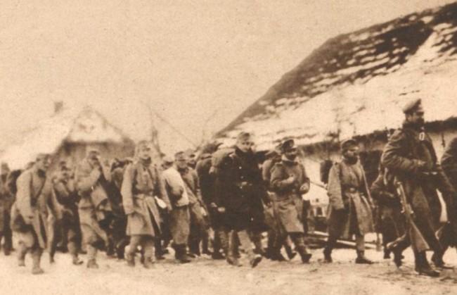 Le Miroir 12 martie 1916 Prizonieri austrieci 2