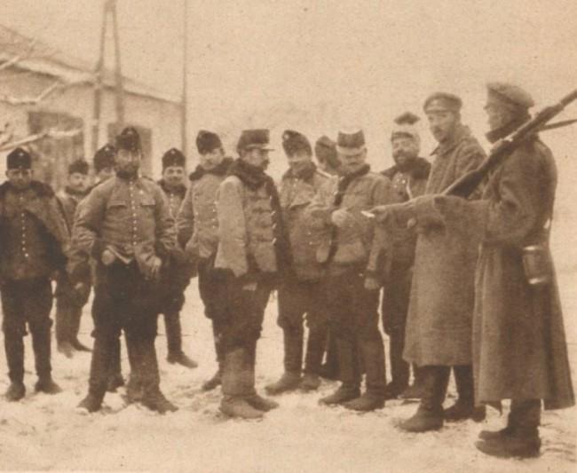 Le Miroir 12 martie 1916 Prizonieri austrieci 3