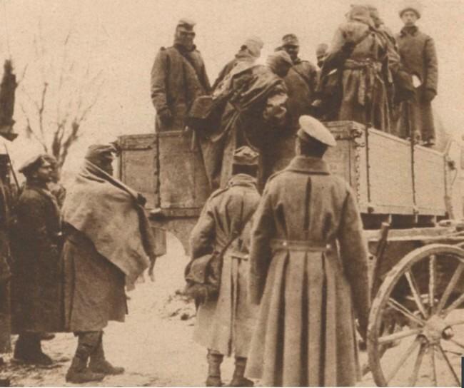 Le Miroir 12 martie 1916 Prizonieri austrieci 5