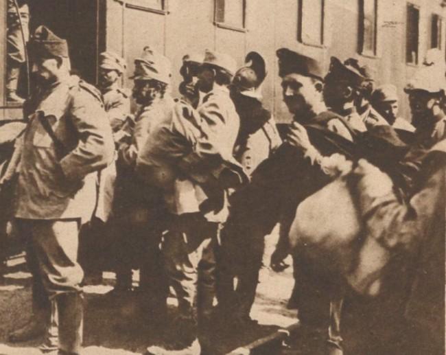 Le Miroir 12 martie 1916 Prizonieri austrieci 6