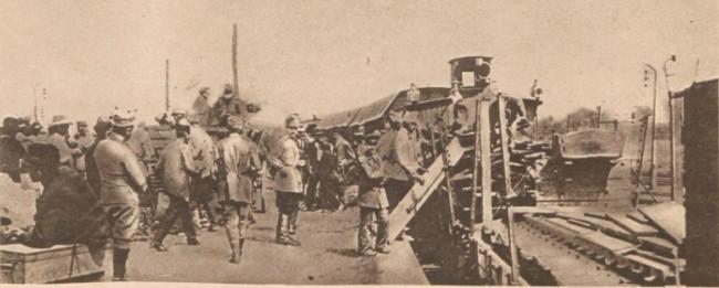 Le Miroir 13 august 1916 Gara Itcani