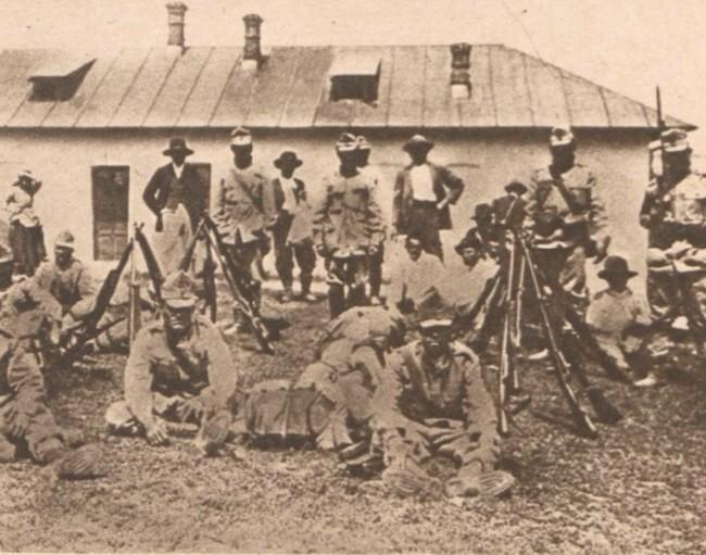 Le Miroir 13 august 1916 Pichetul de granita din Itcani