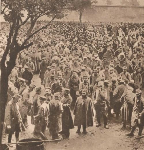 Le Miroir 18 iunie 1916 Trierea prizonieri austrieci din Galitia si Bucovina