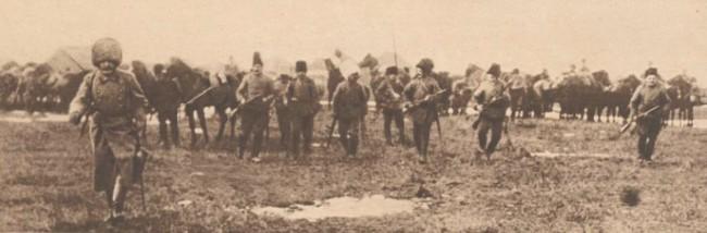 Le Miroir 19 sept 1916 Husarii partizani ai rusului W de Schneouhr in Bucovina 1