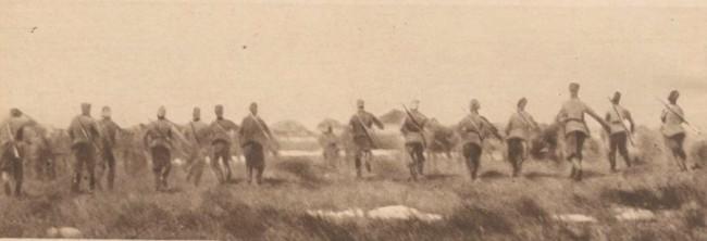 Le Miroir 19 sept 1916 Husarii partizani ai rusului W de Schneouhr in Bucovina 2