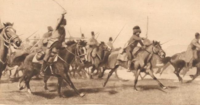 Le Miroir 19 sept 1916 Husarii partizani ai rusului W de Schneouhr in Bucovina 3