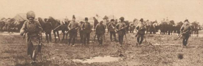 Le Miroir 19 septembrie 1915 Husarii Partizani în Bucovina 1