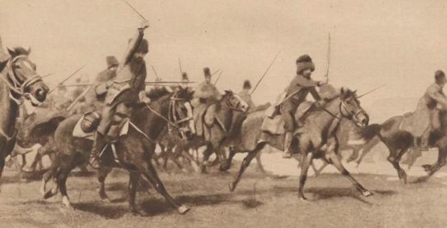 Le Miroir 19 septembrie 1915 Husarii Partizani în Bucovina 3
