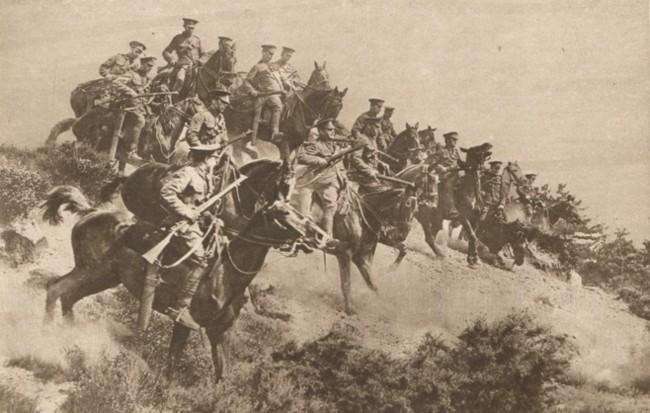 Le Miroir 20 august 1916 Sarja cazaceasca în Bucovina