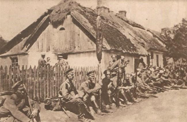 Le Miroir 23 iulie 1916 Rusi în Bucovina