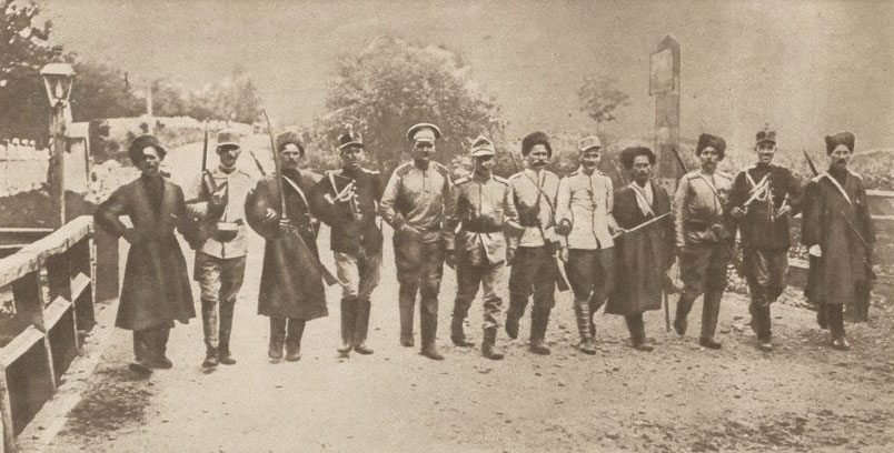 Le Miroir 24 sept 1916 Soldaţi români şi ruşi fraternizând în Bucovina