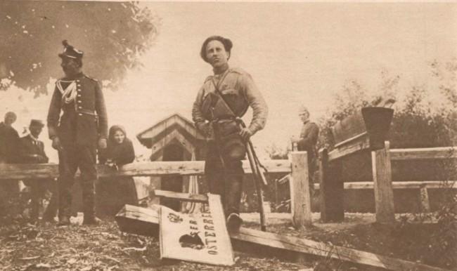 Le Miroir 27 aug 1916 Bariera vamala din Itcani