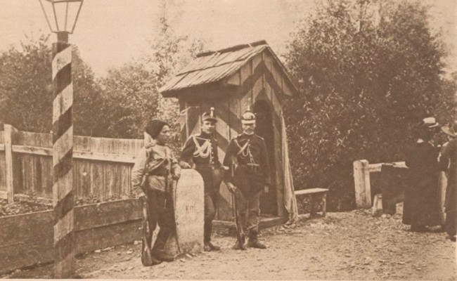 Le Miroir 27 aug 1916 Rusi si români la frontiera Bucovinei