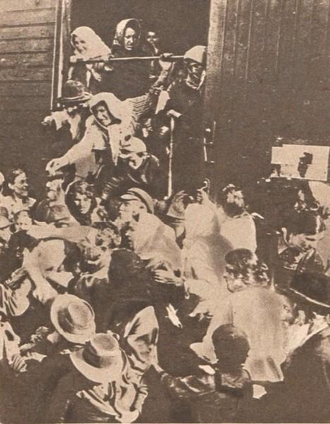 Le Miroir 6 august 1916 Refugiati bucovineni 1