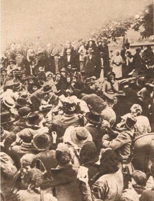 Le Miroir 6 august 1916 Refugiati bucovineni 2