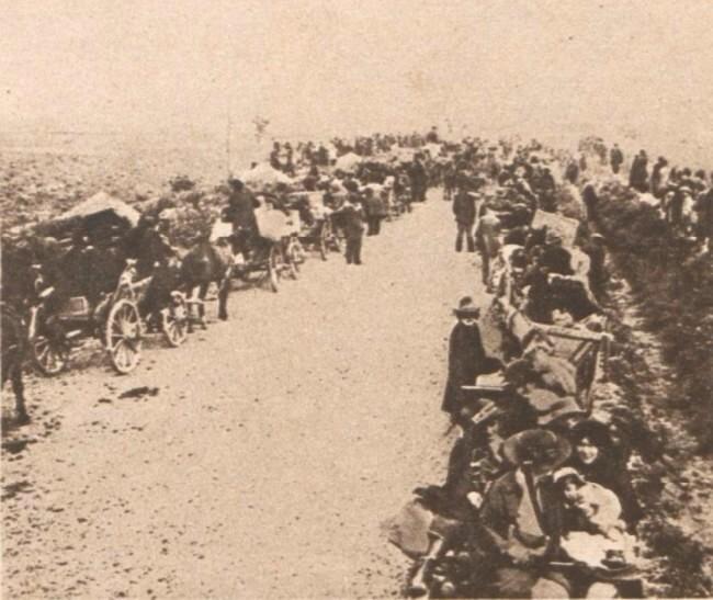 Le Miroir 6 august 1916 Refugiati bucovineni 3