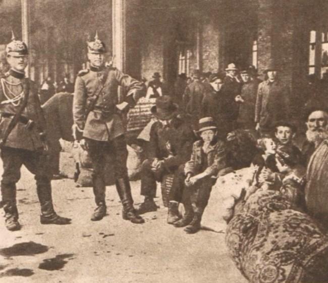 Le Miroir 6 august 1916 Refugiati bucovineni 4