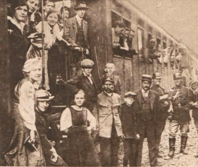 Le Miroir 6 august 1916 Refugiati bucovineni 5