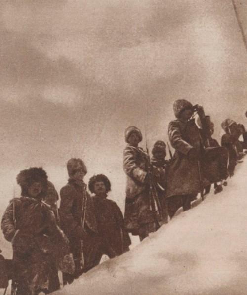 Le Miroir 9 mai 1915 Rusi în muntii Câmpulungului