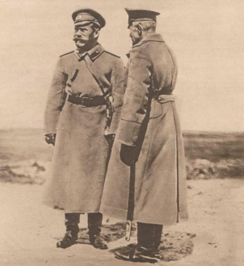 Le Miroir Tarul Nicolae de si generalul Broussiloff cuceritorul Bucovinei