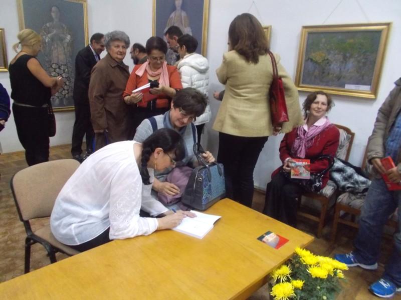 Sesiunea de autografe