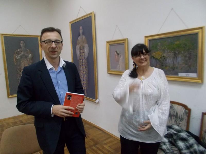 Dr. Gabriel Cărăbuş şi Lili Crăciun, imediat după ce s-au cunoscut