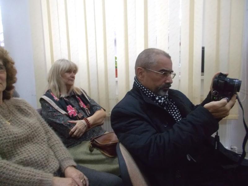 Tiberiu Cosovan, în postură de jurnalist