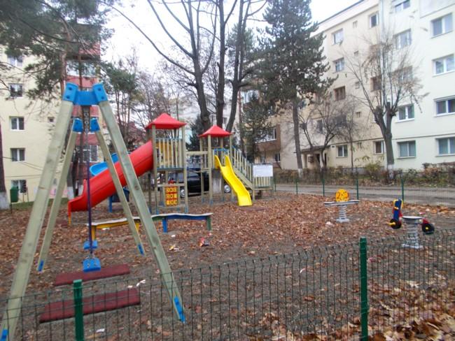 Loc de joacă în Suceava