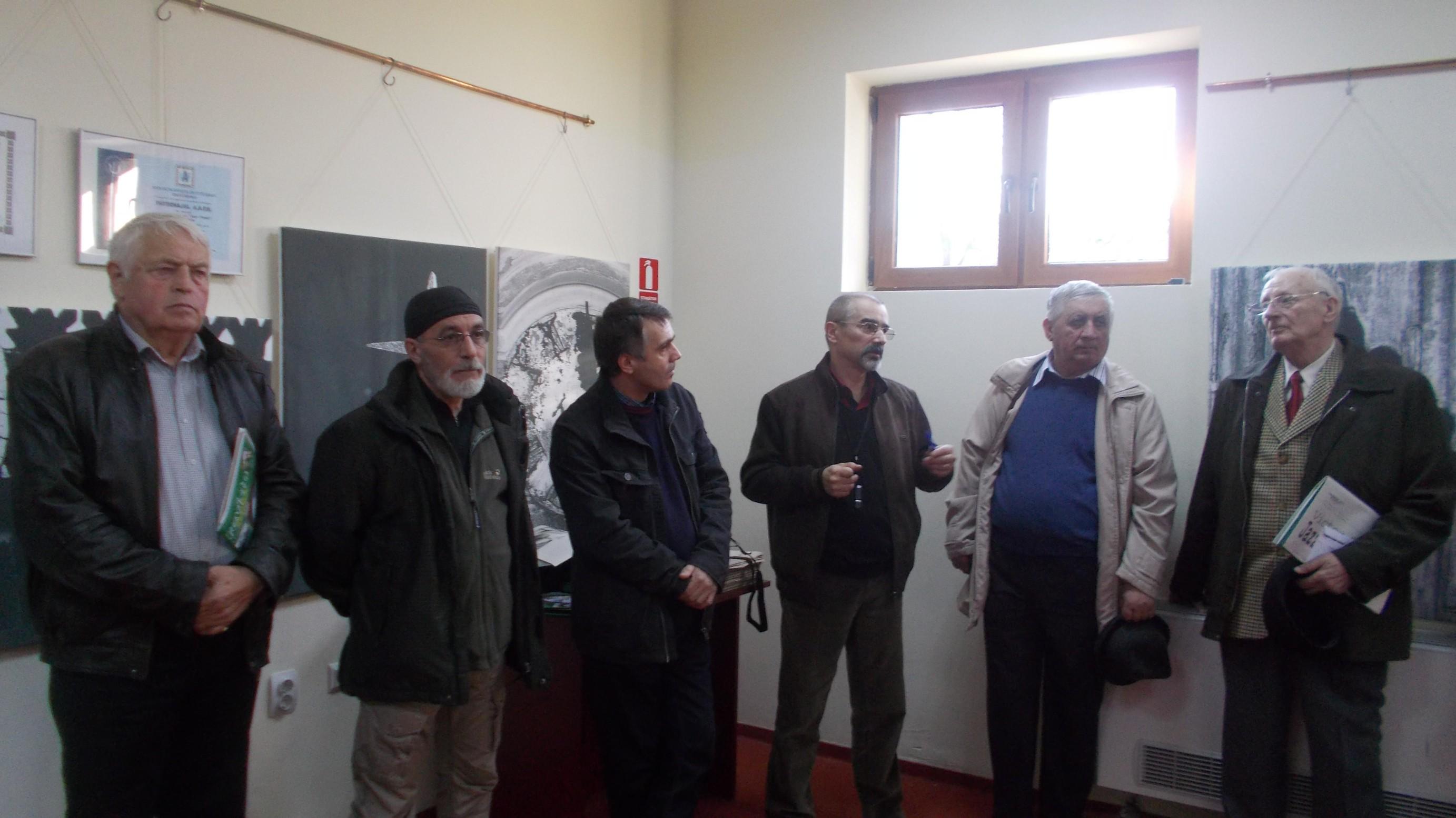 Constantin Logigan, Victor Rusu, Mihai Mardare, Tiberiu Cosovan, Gheorghe Solcan şi Radu Bercea