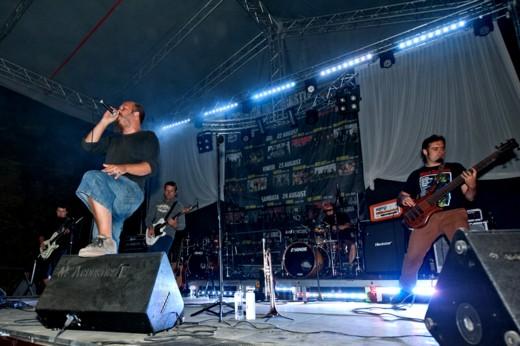 Luna Amară, trupă co-fondatoare a Festivalului BUCOVINA ROCK CASTLE - Fotografie de Victor T. RUSU