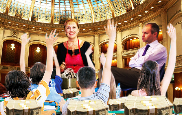 Sanda-Maria Ardeleanu: Veţi avea un învăţământ ca pe vremea lui Daniei Funeriu!