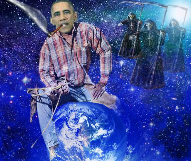 Obama: Nu cumva Ivan şi-a aprins o ţigară?