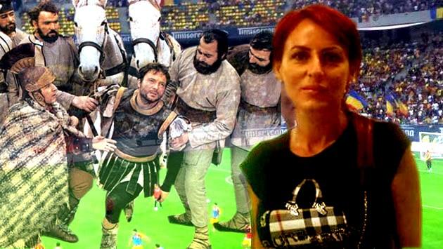 Centurionul roman: Acum, dacă mi-aţi îngăduit să o văd pe senatoarea voastră sexi, puteţi să mă ucideţi, dacilor!