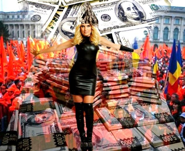 """Elena Udrea: """"Pe mine nu mă interesează banii, ci cum să-mi slujesc poporul cu cât mai mult folos!""""."""