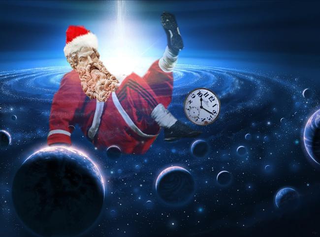 Moş Crăciun: Degeaba le tot pasez eu timpul!...