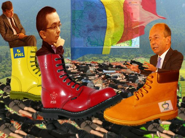 Traian Basescu: Ponta, ăsta, mereu mă calcă pe bombeu!