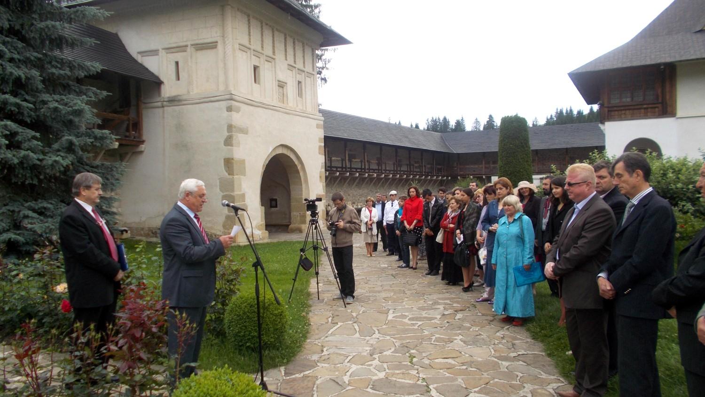 Profesorul Gheorghe Lazăr, inspectorul şef al IJŞ Suceava