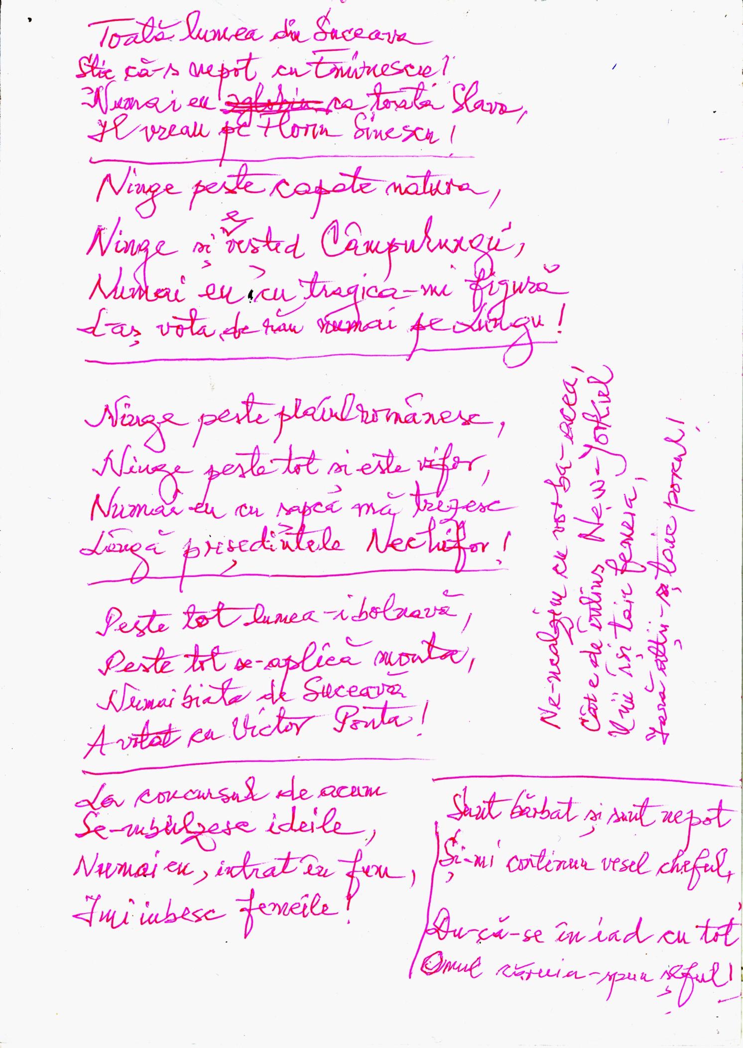 Manuscris nepoto-eminescian