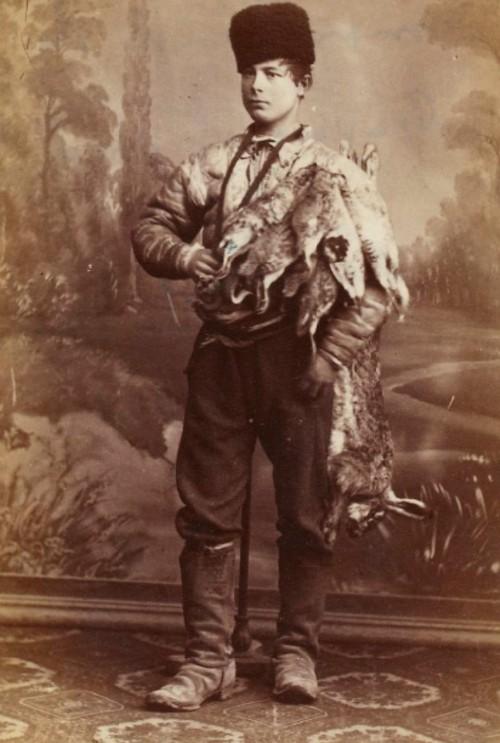 Vânzător de iepuri şi potârnichi