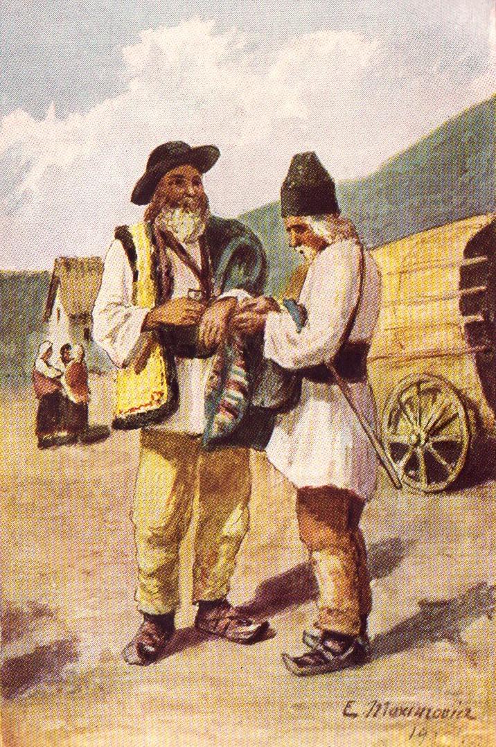 Eugen Maximovici: Bătrâni munteni