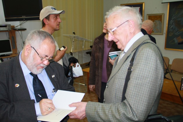 Menachem Falek si Radu Bercea