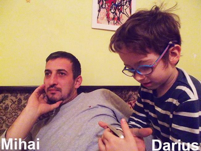 Mihai și Darius