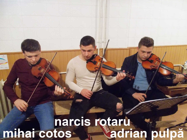 Mihai Cotos Narcis Rotaru Adrian Pulpă