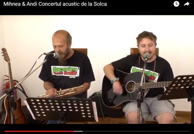 Mihnea Blidariu & Andi Dragusanul la Solca