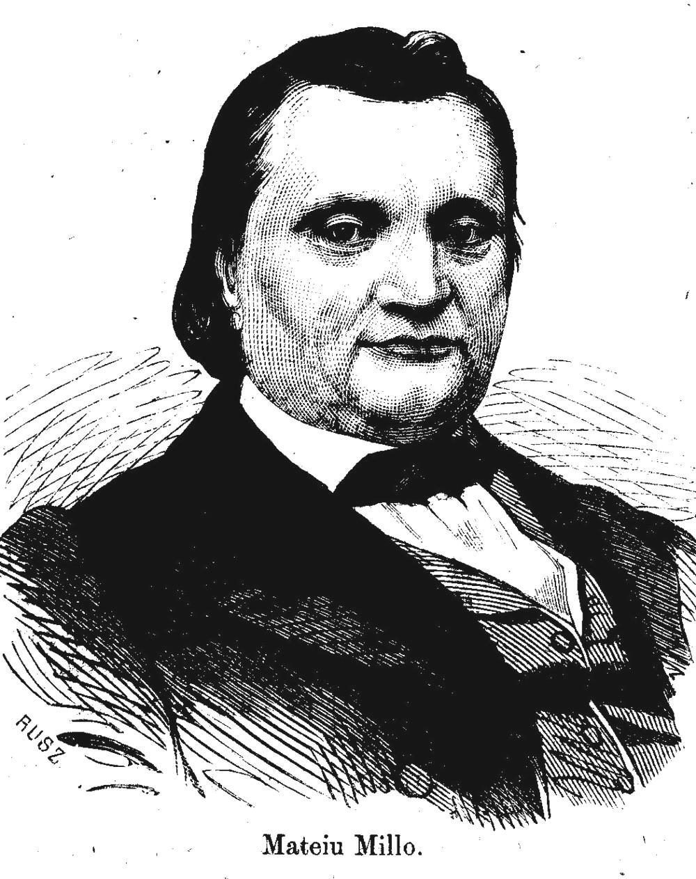 Matei Millo, în 1867