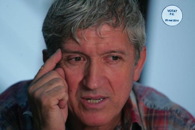 """Mircea Diaconu, expresia celui """"ce gândeşte singur"""" (fotografia: www.cotidianul.ro)"""
